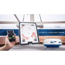 Radar marítimo , sem ecrã, só a antena que funcilona sem fios (wireless)